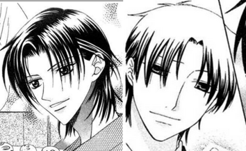 A massive improvement in art style; Shigure in chapter 1 and 136.